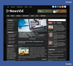 NewsVid – Free Responsive #Blogger Template