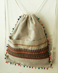 - (notitle) - # HandmadeBagseasy (notitle) - # HandmadeBagseasy festival bag leather fringe beaded feathers boho hippie art purse tmyerswOw handmade turquoise leather fringes large pocket Boho Hippie Festival wallet B. Diaper Bag Patterns, Diy Sac, Diy Backpack, Back Bag, Yoga Bag, String Bag, Fabric Bags, Handmade Bags, Diy Clothing