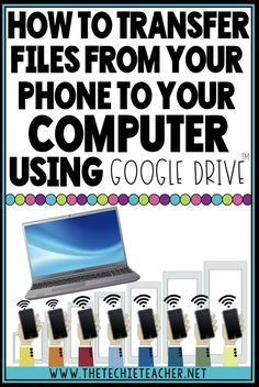 How to Transfer Files from Your Phone to Your Computer Life Hacks Computer, Iphone Life Hacks, Computer Basics, Computer Help, Computer Internet, Computer Tips, Computer Online, Computer Problems, Computer Keyboard