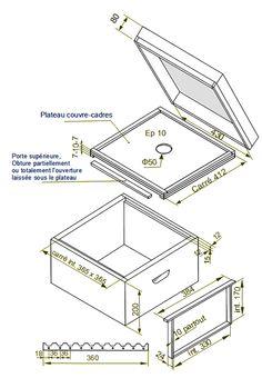 plan de fabrication de ruche dadant 10 cadres page6 technologie tags
