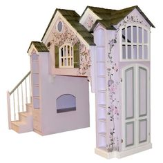 Manchester Playhouse Loft Bed w/ Built In Dresser, Lavender. My bed is like this with different colors Modern Bunk Beds, Cool Bunk Beds, Bunk Beds With Stairs, Bunk Beds For Girls Room, Kids Bunk Beds, Kids Bedroom, Master Bedroom, Bedroom Decor, Princess Castle Bed