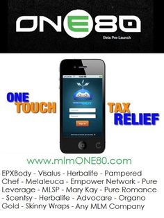 Here's what I use to track my business expenses, mileage etc. It makes tax season a breeze. No matter what business you own, you could use this app. If your not then you are throwing money down the drain.  ✔✔ ANY HOME BASED BUSINESS OWNER NEEDS THIS. ✔✔  www.mlmONE80.com  #epxbody #visalus #bodybyvi   #mca   #empowernetwork #clickbank #amway   #homebasedbusiness #mlm #herbalife   #skinnywraps #marykay #scensity #avon   #paperedchef #origamiowl #organogold #advocare #amway