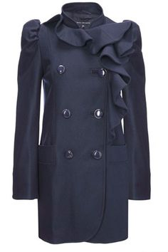 french connection fluted coat