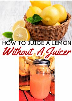 Finding a new way to preserve fresh lemons is as easy as can be when you learn how to can lemon juice! No juicer? No problem! It's super easy to learn how to juice a lemon without a juicer! You can even preserve fresh lime juice the same way!