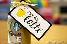 Thank You Gift Tags for Classroom Volunteers {Freebie} - Kinder Craze