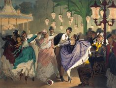 Philippe Jacques Linder Waltz at the Bal Mabille