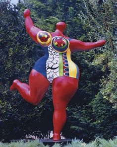 View Nana danseuse by Niki de Saint Phalle on artnet. Browse upcoming and past auction lots by Niki de Saint Phalle. Jean Tinguely, Friedensreich Hundertwasser, Barbizon School, Plus Size Art, Fat Art, Artists For Kids, Gcse Art, Sculpture Clay, French Art