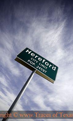 hometown :) Hereford, Tx