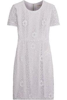 Burberry London Crocheted lace dress | NET-A-PORTER