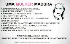 Uma mulher Madura é isso!!!