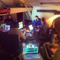 Dans les studios de la #radio de #Winamax avec Kool Shen et DJJames. (Crédits : djlowcut, Instagram) #poker