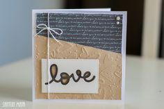 Santun Maja: P*skarteluhaaste #288 - Värit. #cardmaking #craftideas #card #diy #weddingcard #askartelu #askarteluideoita #kortti