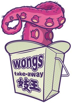 """Wong's Takeaway"" Stickers by cronobreaker Digital Illustration, Graphic Illustration, Art Sketches, Art Drawings, Posca Art, Graffiti Characters, Street Art Graffiti, Art Plastique, Cartoon Art"