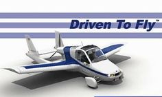 The Terrafugia Transition Flying Car Airplane