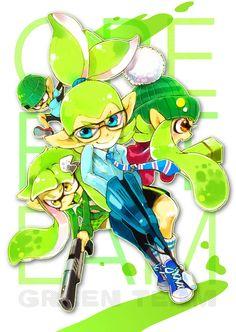 「緑T*」/「*ゆき*多忙中」の漫画 [pixiv] #Inkling