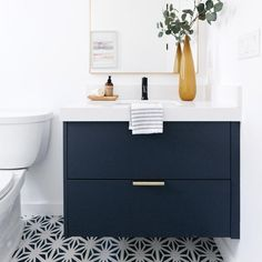 Personalize your bathroom vanity with custom doors for Godmorgon and Sektion cabinets. Ikea Bathroom Vanity, Small Bathroom Vanities, Bathroom Design Small, Bathroom Storage, Master Bathroom, Hall Bathroom, Bath Design, Bathroom Designs, Bathroom Organization