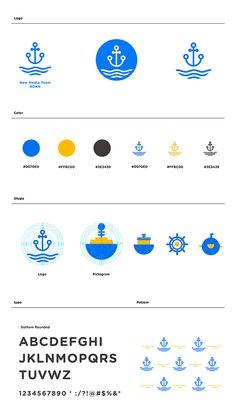 Branding design : ROKN New Media Team on Branding Served