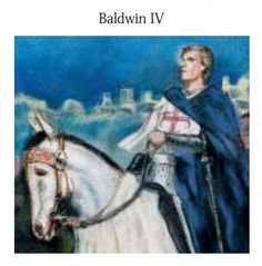 The Latin Kingdom of Jerusalem was founded as a result of the First Crusade. Successive waves of Crusaders made their way, laying siege to ancient cities and founding kingdoms. In 1174, Baldwin IV became king of Jerusalem.