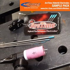www.Arc-Zone.com/GiftsForWelders Take advantage of our [Hybrid] #ArcTimeTungsten Sample Pack. This is not only a great opportunity to try our brand of tungsten but also a great opportunity to see first hand what we're talking about when we say One Tungsten No Limits. You will not be disappointed. You can also communicate with a real live human being over the phone at 1-800-944-2243 if you have any questions for us. Now get out there and burn some stuff! #WeldLikeAPro #ArcZone #Welding