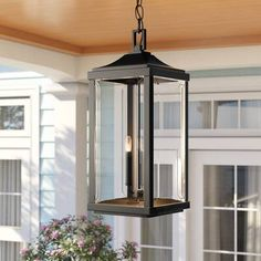 New Charleston Antique Bronze 3 -Bulb H Outdoor Hanging Lantern by Sol 72 Outdoor Lighting Home Decor Furniture. offers on top store Outdoor Hanging Lanterns, Outdoor Chandelier, Outdoor Ceiling Fans, Outdoor Wall Lantern, Outdoor Walls, Hanging Porch Lights, Wall Lights, Gas Lanterns, Large Lanterns