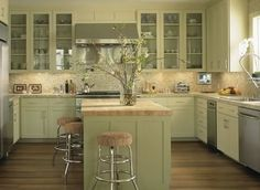 kitchen cabinets | Found on fernsantini.com