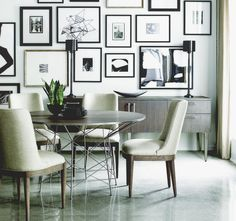 Amazing gallery wall, neutral interior. Are you looking for unique art photo prints to curate your gallery walls? Visit bx3foto.etsy.com and follow us on Instagram @bx3foto