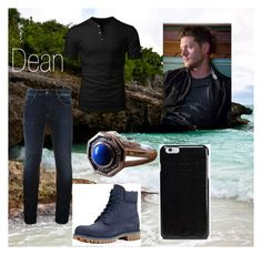 """Dean arrumando a casa"" by larissa1012 on Polyvore featuring Hilfiger Denim, Timberland, Maison Margiela, men's fashion and menswear"