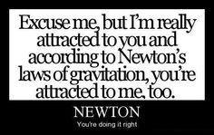 Newton... Winning the internets!