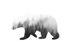 Spirit Bear Free Illustration by Whispering Words Design