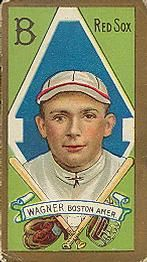 1911 T205 Gold Border #195 Heinie Wagner Front