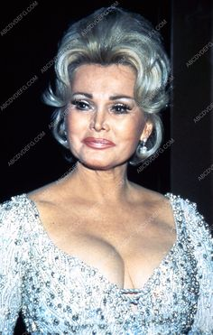 candid Zsa Zsa Gabor at some event 35m-4280