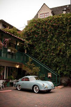 The Olden Days - Porsche 356 (by Eric Rosendahl) Porsche 356, Cayman Porsche, Porsche Girl, Porsche Autos, Porsche Carrera, Porsche Logo, Porsche Boxster, Retro Cars, Vintage Cars