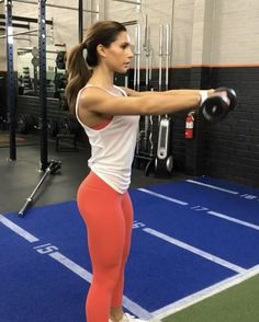 """8,602 Likes, 75 Comments - Alexia Clark (@alexia_clark) on Instagram: """"Upper body circuit!  1: 15 reps (wide Grip will work if you don't have the attachment im using)  2.…"""""""
