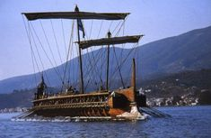 The All Inclusive Luxury Motor Yacht Charter Greek History, Ancient History, Old Sailing Ships, Boat Safety, Man Of War, Merchant Marine, Greek Art, Motor Yacht, Navy Ships