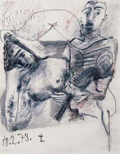 Pablo Picasso - Couple, 1973