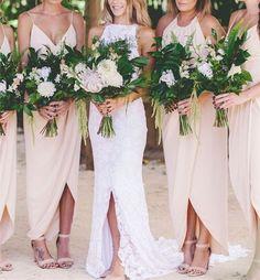 2016 Custom long chiffon Bridesmaid Dress,Sexy v-neck Spaghetti Bridesmaid Dress ,Champagne Backless Bridesmaid Dress - Thumbnail 1