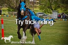 Try Trick Riding