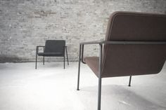 On a mission to improve the furniture industry, the new Danish manufacturer WEHLERS achieves impressively simple designs while adhering to the framework. Outdoor Chairs, Outdoor Furniture, Outdoor Decor, Industrial Furniture, Simple Designs, News, Home Decor, Simple Drawings, Garden Chairs