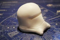 Handmade Large 3D First Order Stormtrooper parody by NerdySoap