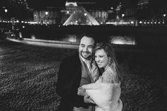 Ensaio de Noivos em Paris - Élio e Rosiane escolheram a cidade luz para a lua-de-mel, e decidiram levar os trajes do casamento para uma sessão de fotos!