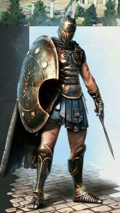 "Ancient Greek, Athenian Soldier/Warrior as seen in the movie with Gerard Butler & also, as Soldier/Gladiator/Warrior in ""The Legend Of Hercules"" with Kellan Lutz as ""Hercules"" Fantasy Armor, Medieval Fantasy, Fantasy Art Warrior, Character Inspiration, Character Art, Character Concept, Spartan Tattoo, Spartan Warrior, Roman Empire"