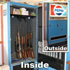 Gun Safe Vending Machine