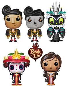 The Book of Life figures  by Funko