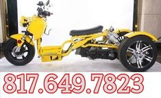 ROAD MAX ULTRA 150CC TRIKE Sale Price: $2,999.00 Scooter 50cc, Cars And Motorcycles, Dan