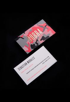 149 best business card inspiration images on pinterest business cobra branding studio on branding served find this pin and more on business card inspiration colourmoves