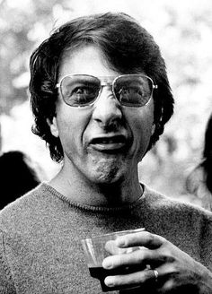 Dustin Hoffman, new year resolution laugh more!