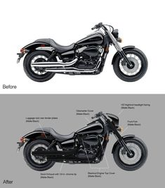 My Idea for My Phantom - Honda Shadow Forums : Shadow Motorcycle Forum Womens Motorcycle Helmets, Bobber Motorcycle, Cruiser Motorcycle, Enfield Motorcycle, Motorcycle Girls, Honda Bikes, Honda Motorcycles, Custom Motorcycles, Vintage Motorcycles