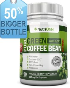 TOPSELLER! Green Coffee Bean Extract With GCA, 8... $26.95