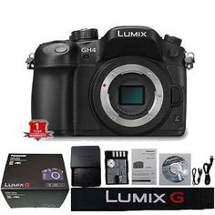 ebay offers 23.7% Off (Save $303) Panasonic Lumix DMC-GH4 4K Micro Four Thirds Mirrorless Digital Camera Body for $976.99 published in Digital Cameras Deals Click here to Buy Deals >> http://ift.tt/1I9y1lf