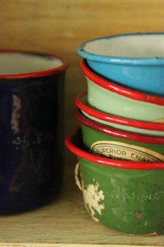 Enamelware bowls
